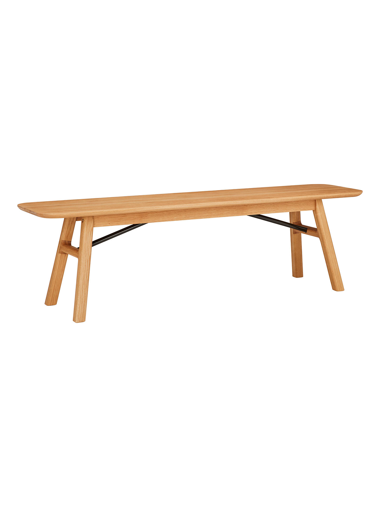 Buy Design Project by John Lewis No.036 Dining Bench, Oak Online at johnlewis.com