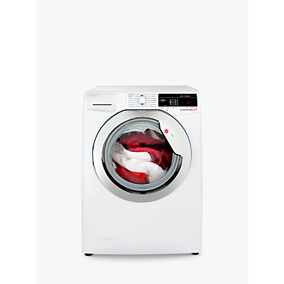 Image of Hoover DXOA49C3 Freestanding Washing Machine, 9kg Load, A+++ Energy Rating, 1400rpm Spin, White