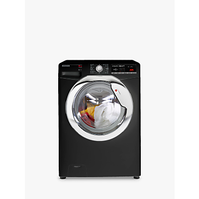 Hoover DXOA 410C3B/1-80 Freestanding Washing Machine, 10kg Load, A+++ Energy Rating, 1400rpm Spin, Black