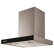 Buy Hoover Vanity HBVS685TX Chimney Cooker Hood, Black Online at johnlewis.com