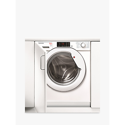 Hoover HBWD 8514D-80 Washer Dryer, 8kg Wash/5kg Dry Load, A Energy Rating, 1400rpm Spin, White Review thumbnail