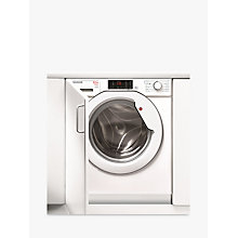Buy Hoover HBWD 8514D-80 Washer Dryer, 8kg Wash/5kg Dry Load, A Energy Rating, 1400rpm Spin, White Online at johnlewis.com
