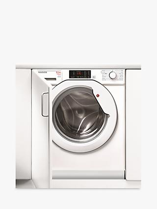 Hoover HBWD 8514D-80 Washer Dryer, 8kg Wash/5kg Dry Load, A Energy Rating, 1400rpm Spin, White