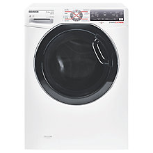 Buy Hoover WDWFT4138AHB Freestanding Washer Dryer, 13kg Wash/8kg Dry Load, A Energy Rating, 1400rpm Spin, White Online at johnlewis.com