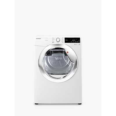 Hoover DX C10TCE-80 Condenser Tumble Dryer, 10kg Load, B Energy Rating, White