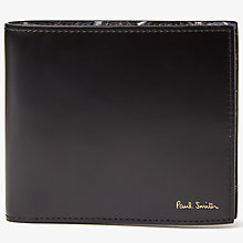 Buy Paul Smith Bicycle Bifold Leather Wallet, Multi Online at johnlewis.com