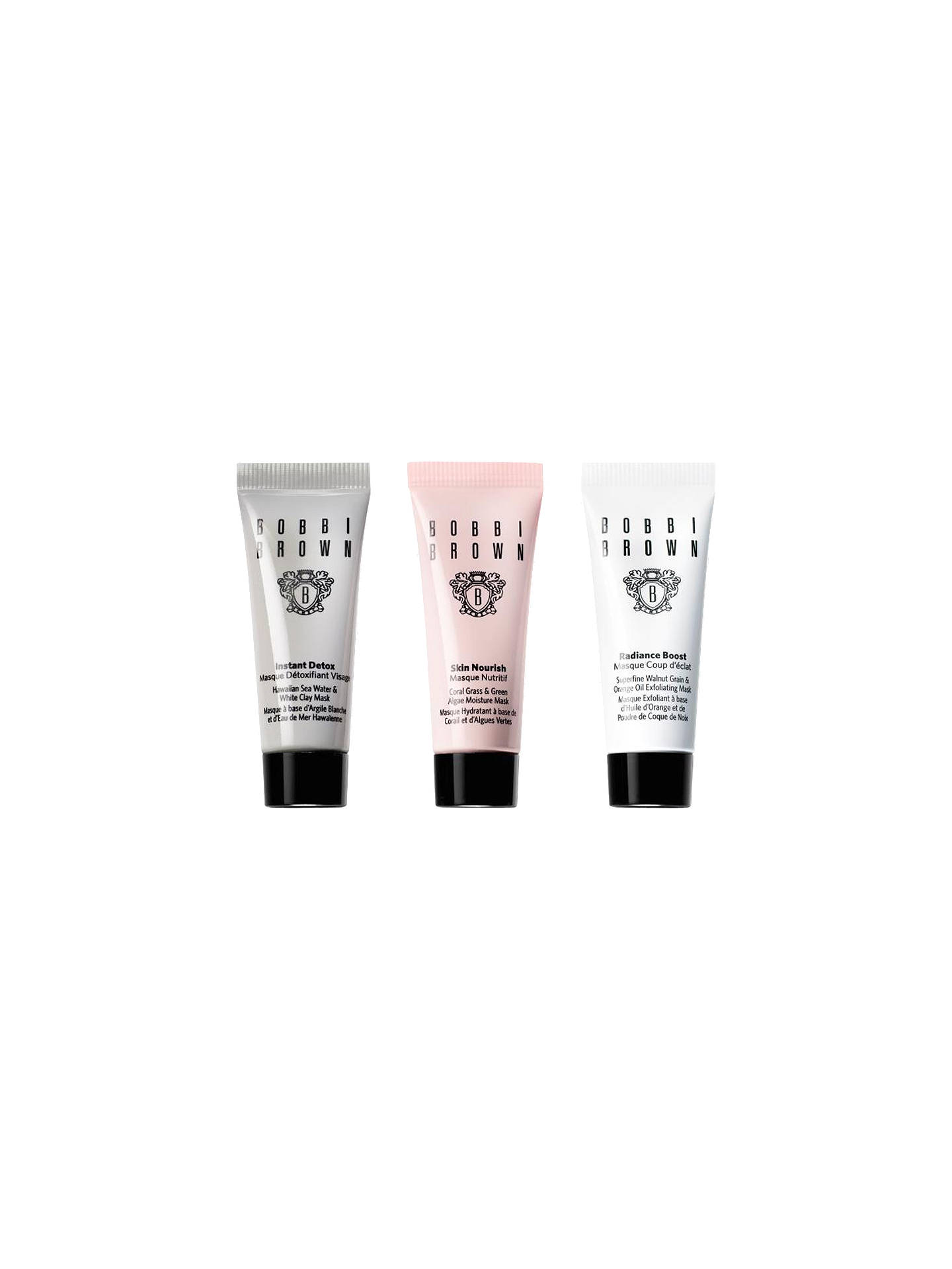Buy Bobbi Brown Mini Mask Trio Online at johnlewis.com