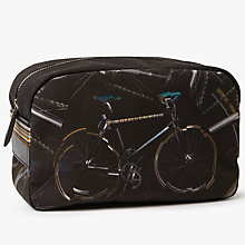 Buy Paul Smith Bicycle Wash Bag, Black Online at johnlewis.com
