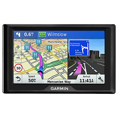 Garmin Drive 51LMT-S Sat Nav with Lifetime Map Updates, Full Europe & Air Vent Mount