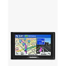 Buy Garmin Drive 51LMT-S Sat Nav with Lifetime Map Updates, UK & Republic of Ireland Online at johnlewis.com