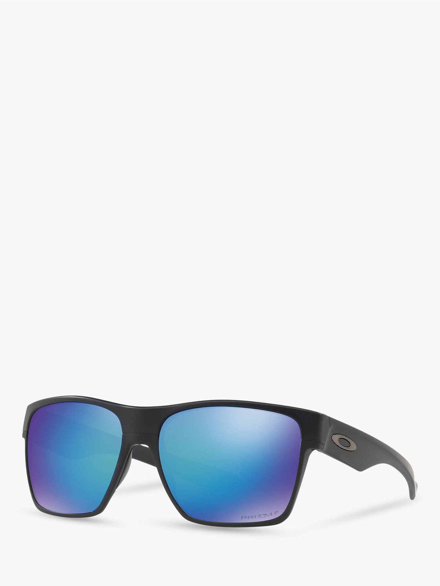 a28b085eadb Oakley OO9350 Two Face XL Prizm Polarised Square Sunglasses at John ...