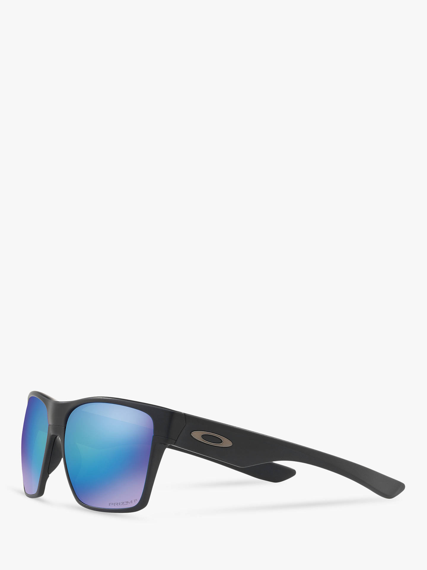 1bc186b40a Oakley OO9350 Two Face XL Prizm Polarised Square Sunglasses at John ...