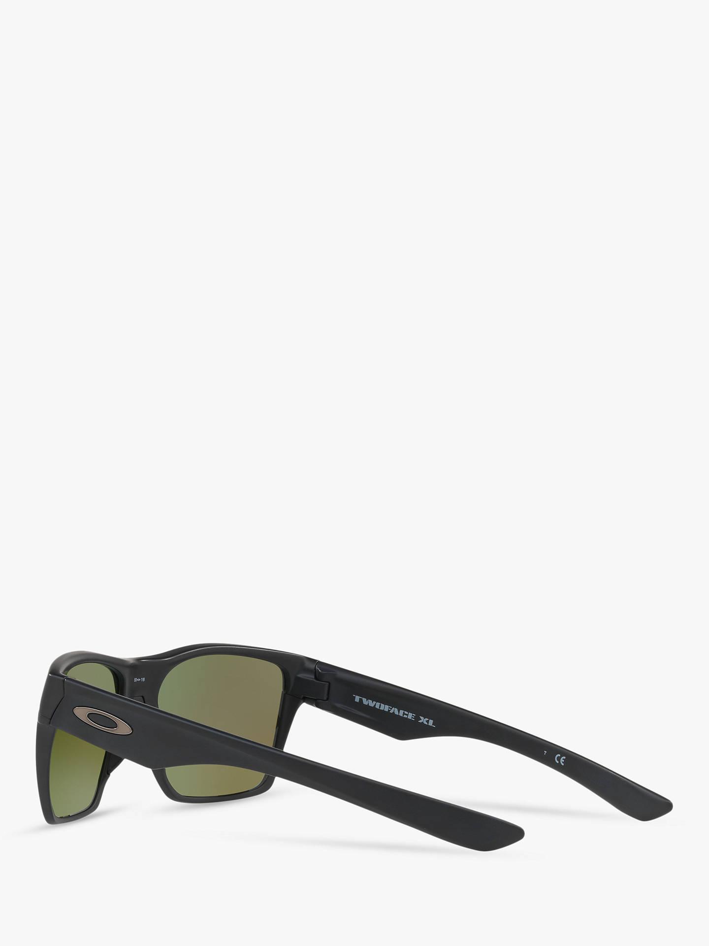 fbaca7c975 Oakley OO9350 Two Face XL Prizm Polarised Square Sunglasses at John ...