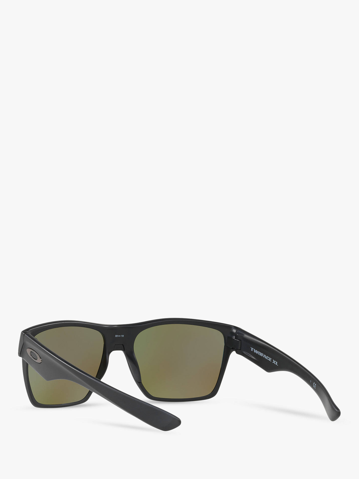 46abc04a0f4 Oakley OO9350 Two Face XL Prizm Polarised Square Sunglasses at John ...