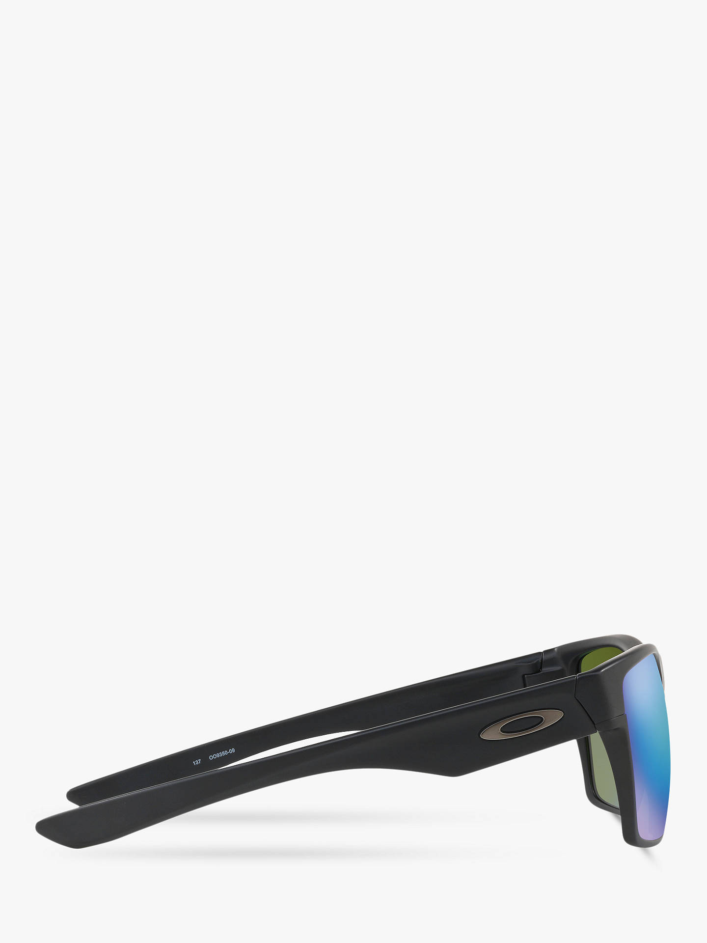 ece7878c9cd ... top quality buyoakley oo9350 two face xl prizm polarised square  sunglasses matte black sapphire iridium online
