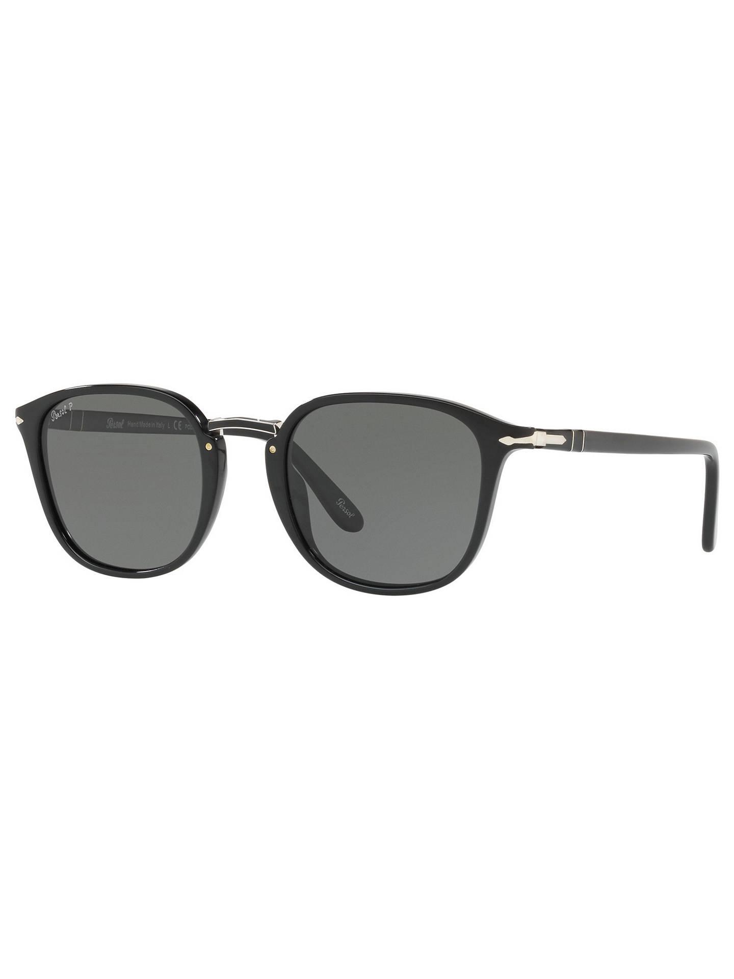 3f0ab7ed112fe Persol PO3186S Polarised Square Sunglasses at John Lewis   Partners