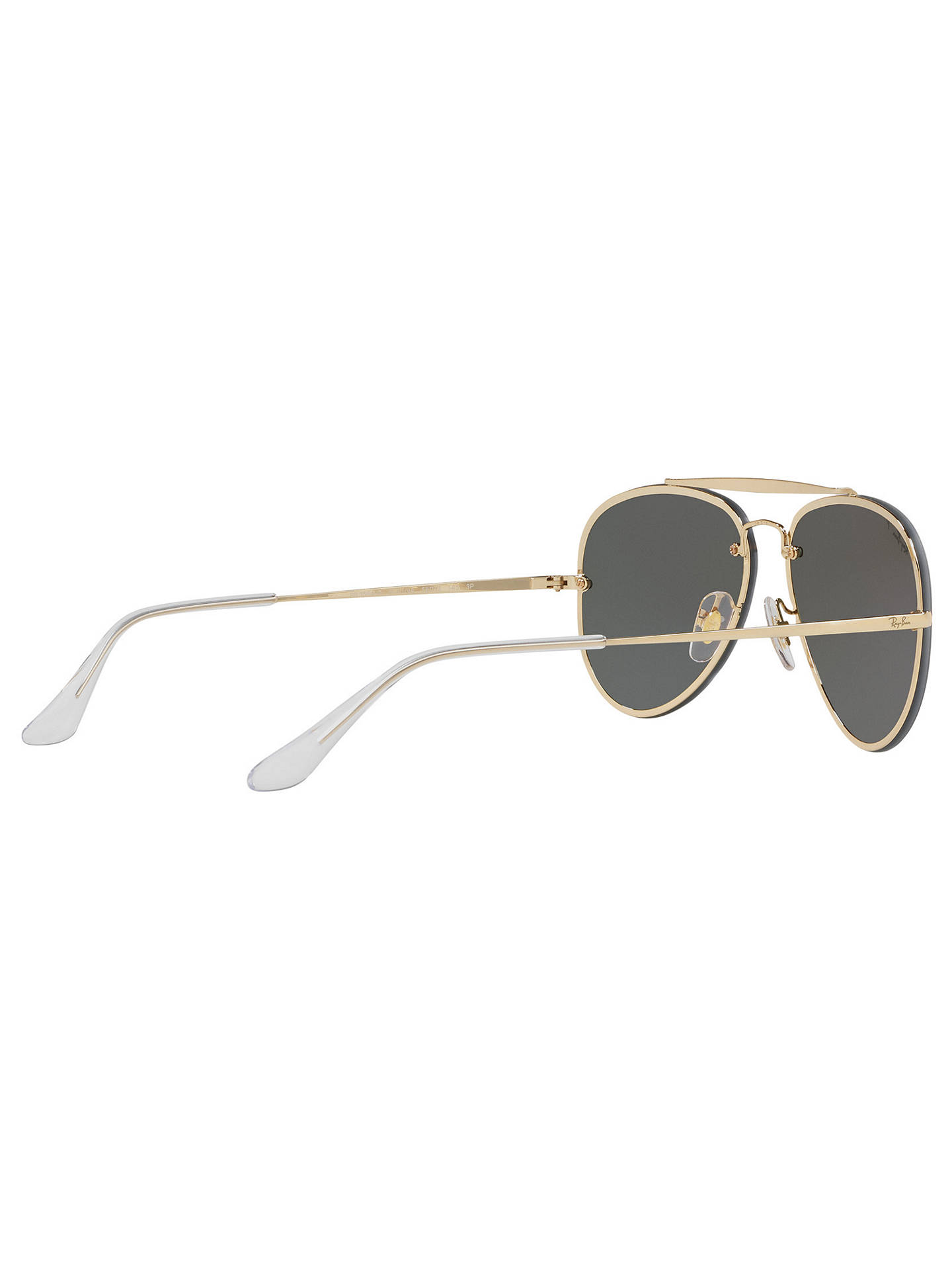 BuyRay-Ban RB3584N Blaze Polarised Aviator Sunglasses, Gold Green Online at  johnlewis. 18b8022b2a6e
