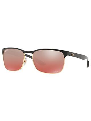 569137b454 Ray-Ban RB8319 Polarised Rectangular Sunglasses