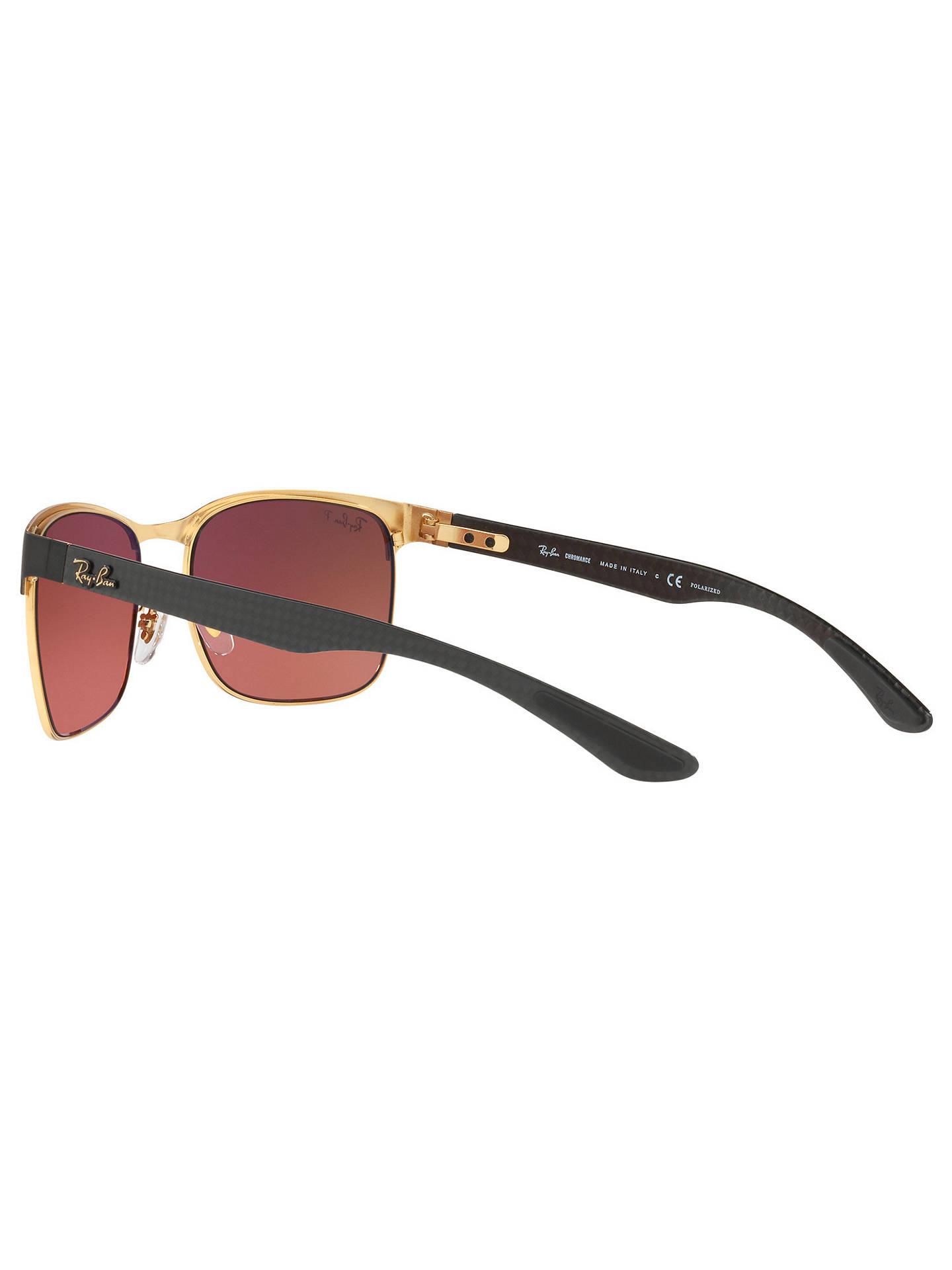 eee6232dc7 Ray-Ban RB8319 Polarised Rectangular Sunglasses at John Lewis   Partners