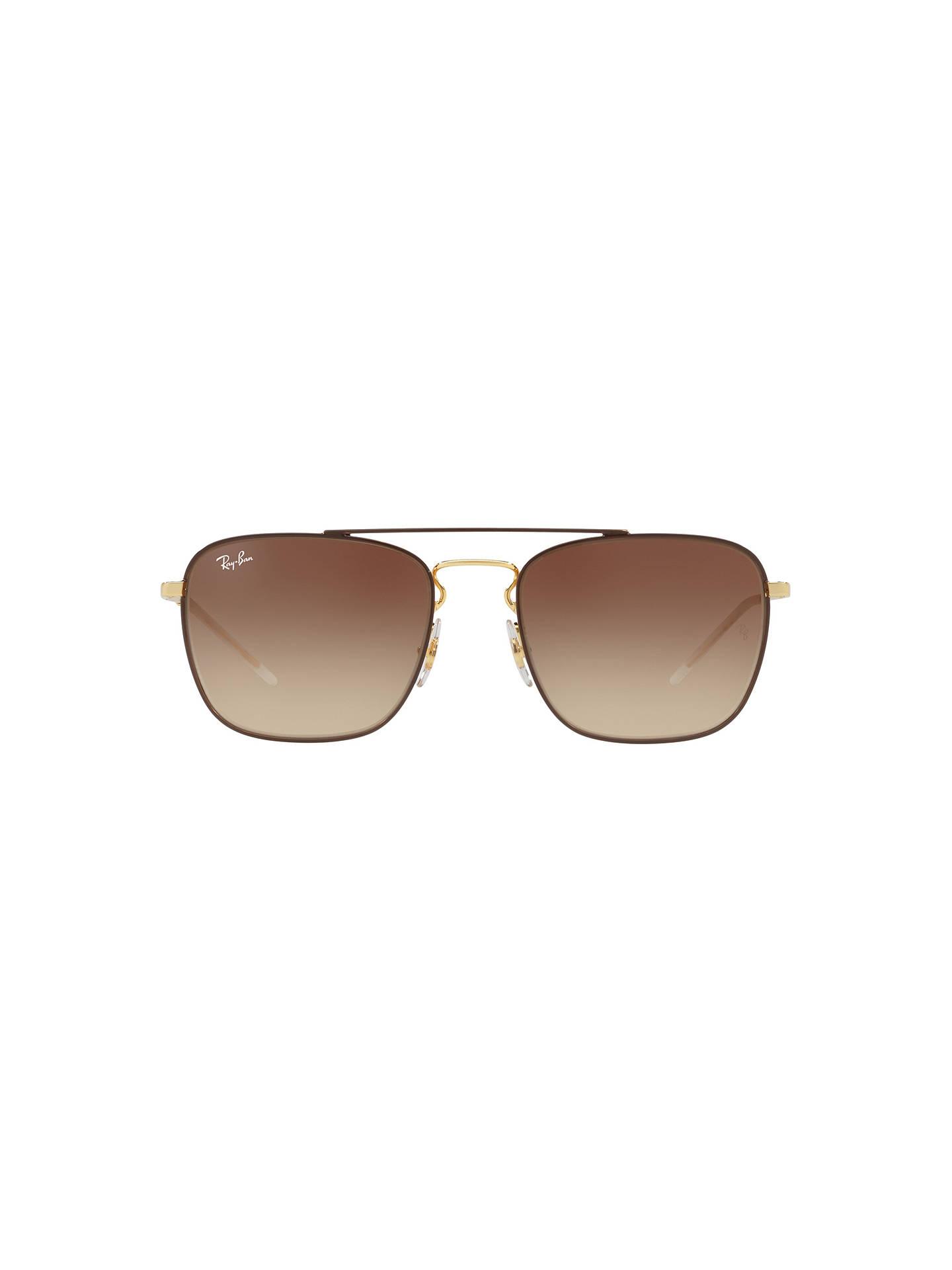 d7ac54ae7c9 Ray-Ban RB3588 Men s Square Sunglasses at John Lewis   Partners