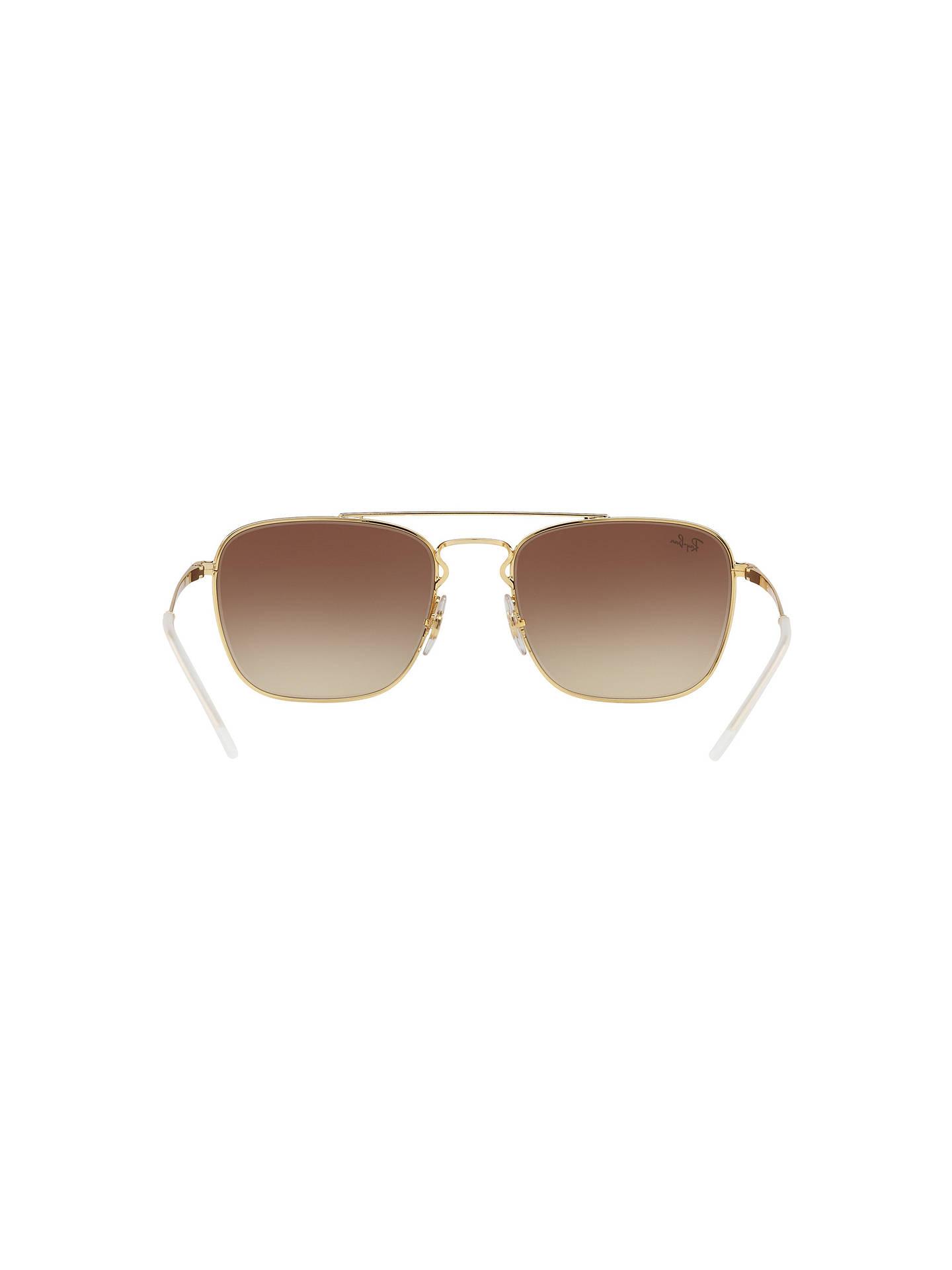 6c9b850082ed0 Ray-Ban RB3588 Men s Square Sunglasses at John Lewis   Partners
