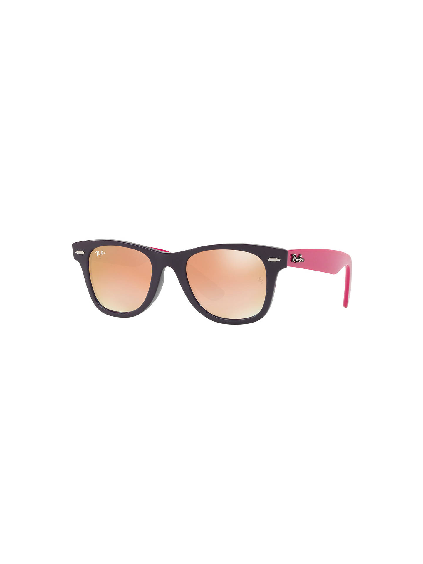 501fb0b1eda41 Ray-Ban Junior RJ9066S Wayfarer Sunglasses at John Lewis   Partners