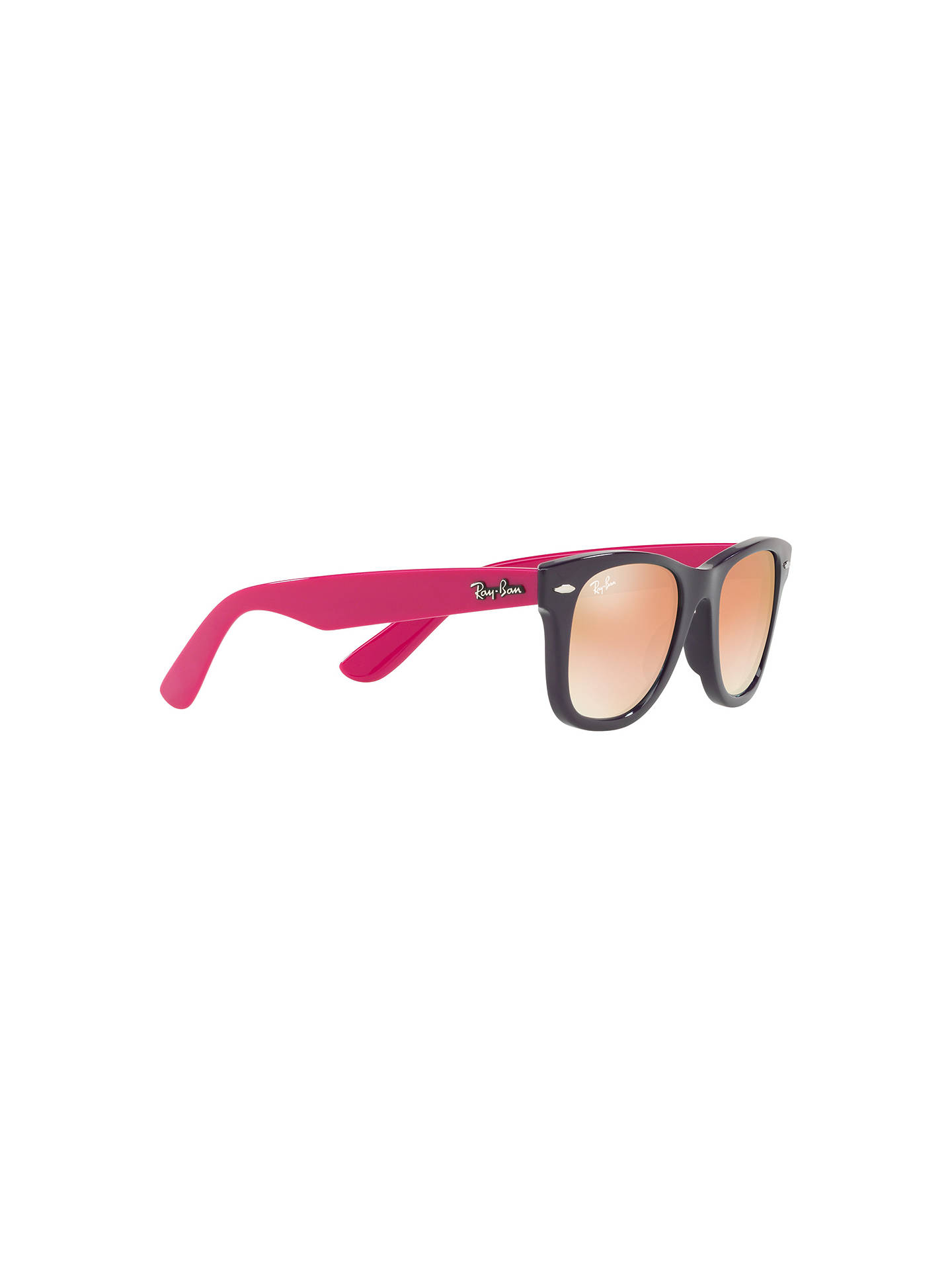 BuyRay-Ban Junior RJ9066S Wayfarer Sunglasses, Multi/Mirror Orange Online at johnlewis.com