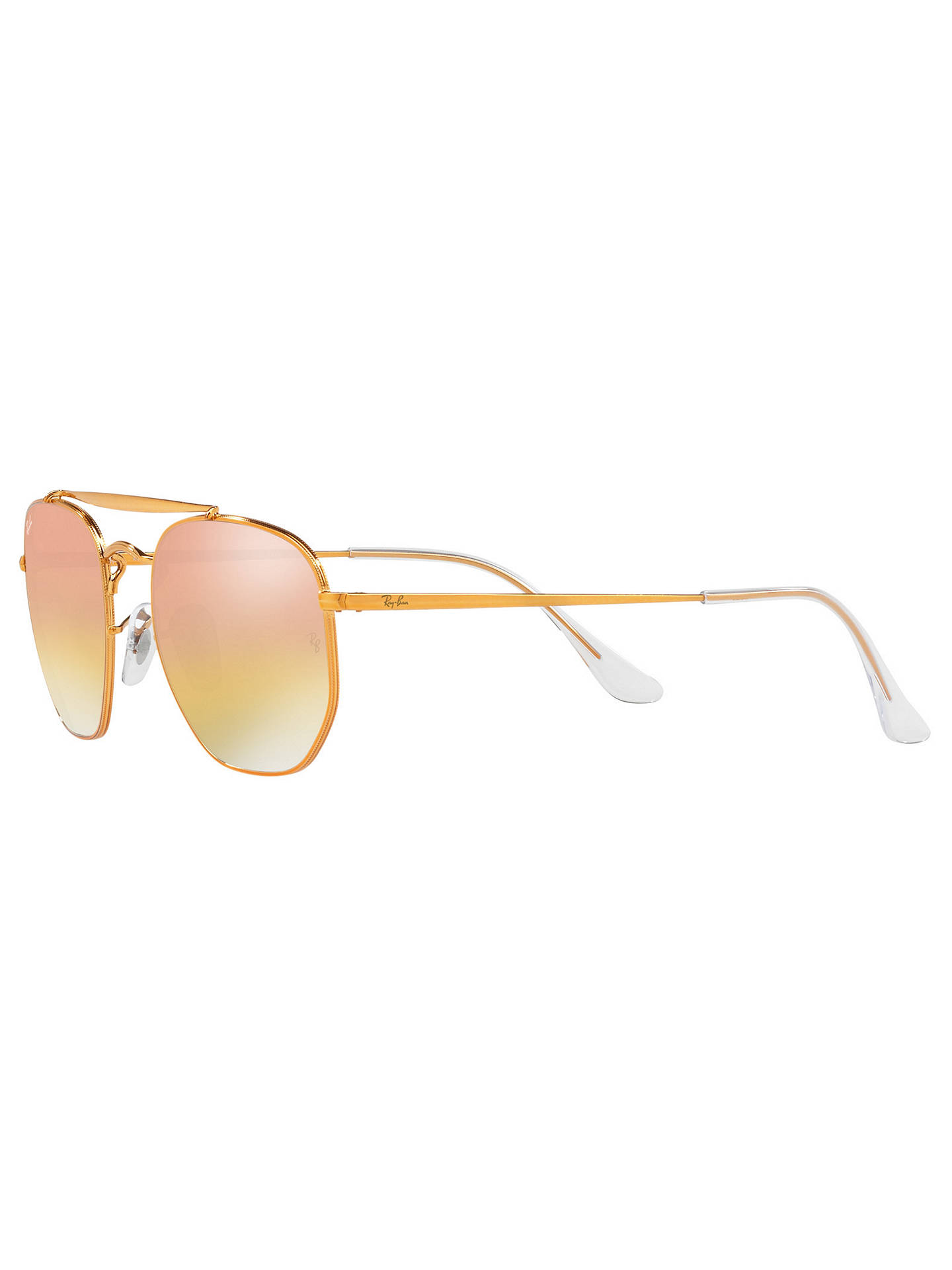 BuyRay-Ban RB3648 Square Sunglasses, Bronze/Mirror Pink Online at johnlewis.com