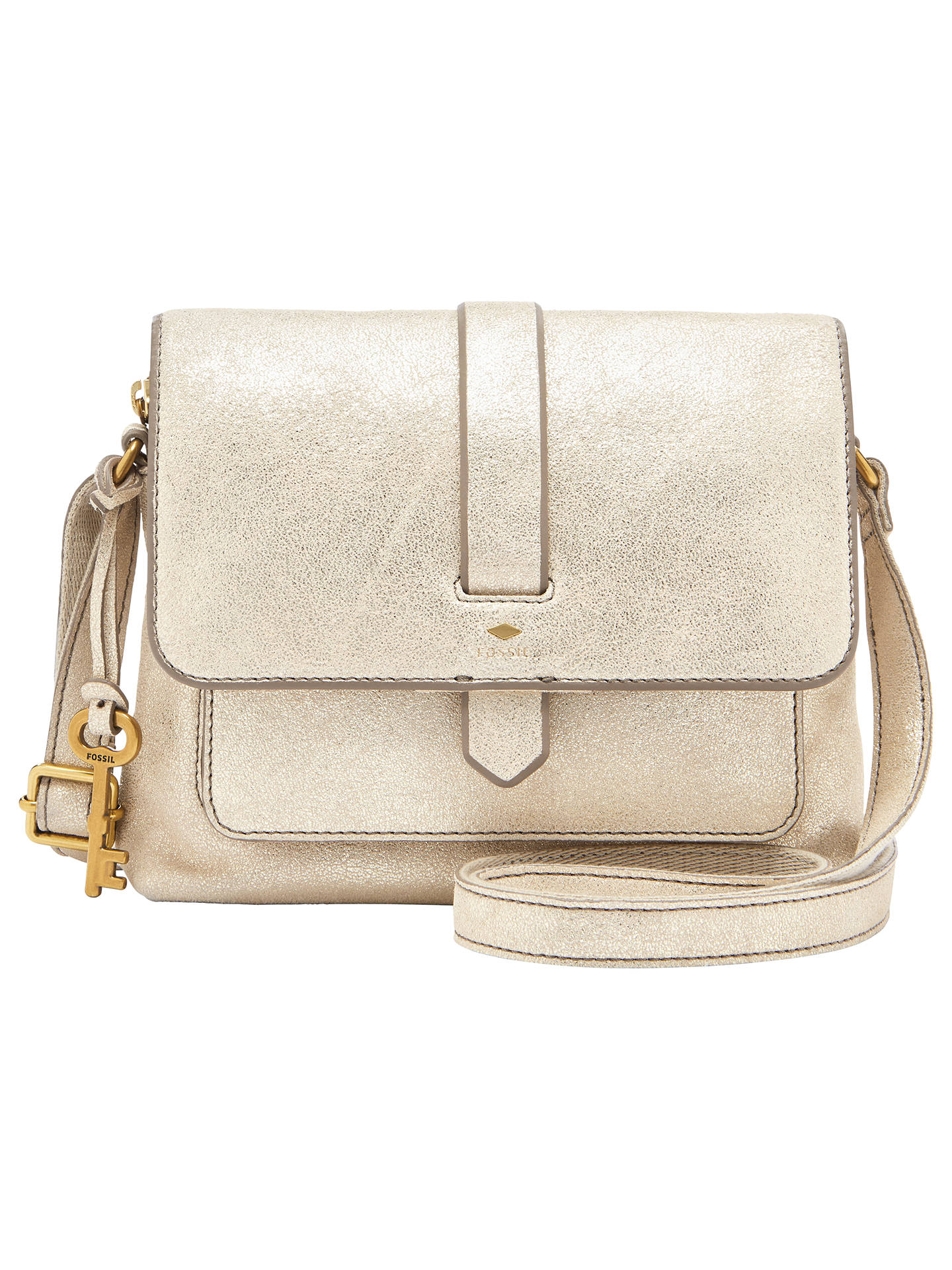 f72bb07d71 Buy Fossil Kinley Small Leather Cross Body Bag