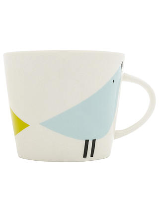 Buy Scion Lintu Birds Mug, 350ml, Citron/Grey Online at johnlewis.com