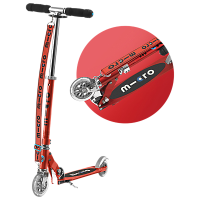 Micro Sprite Scooter with Strap, 5-12 years