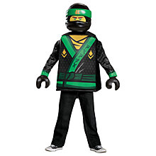 Buy LEGO Ninjango Lloyd Dressing-Up Costume Online at johnlewis.com
