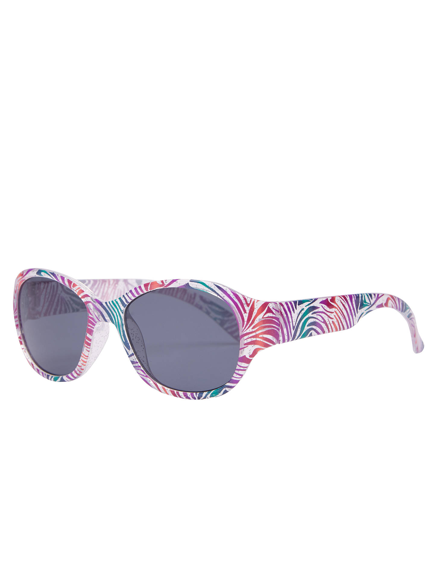 BuyJohn Lewis & Partners Children's Glitter Animal Print Sunglasses, Multi Online at johnlewis.com