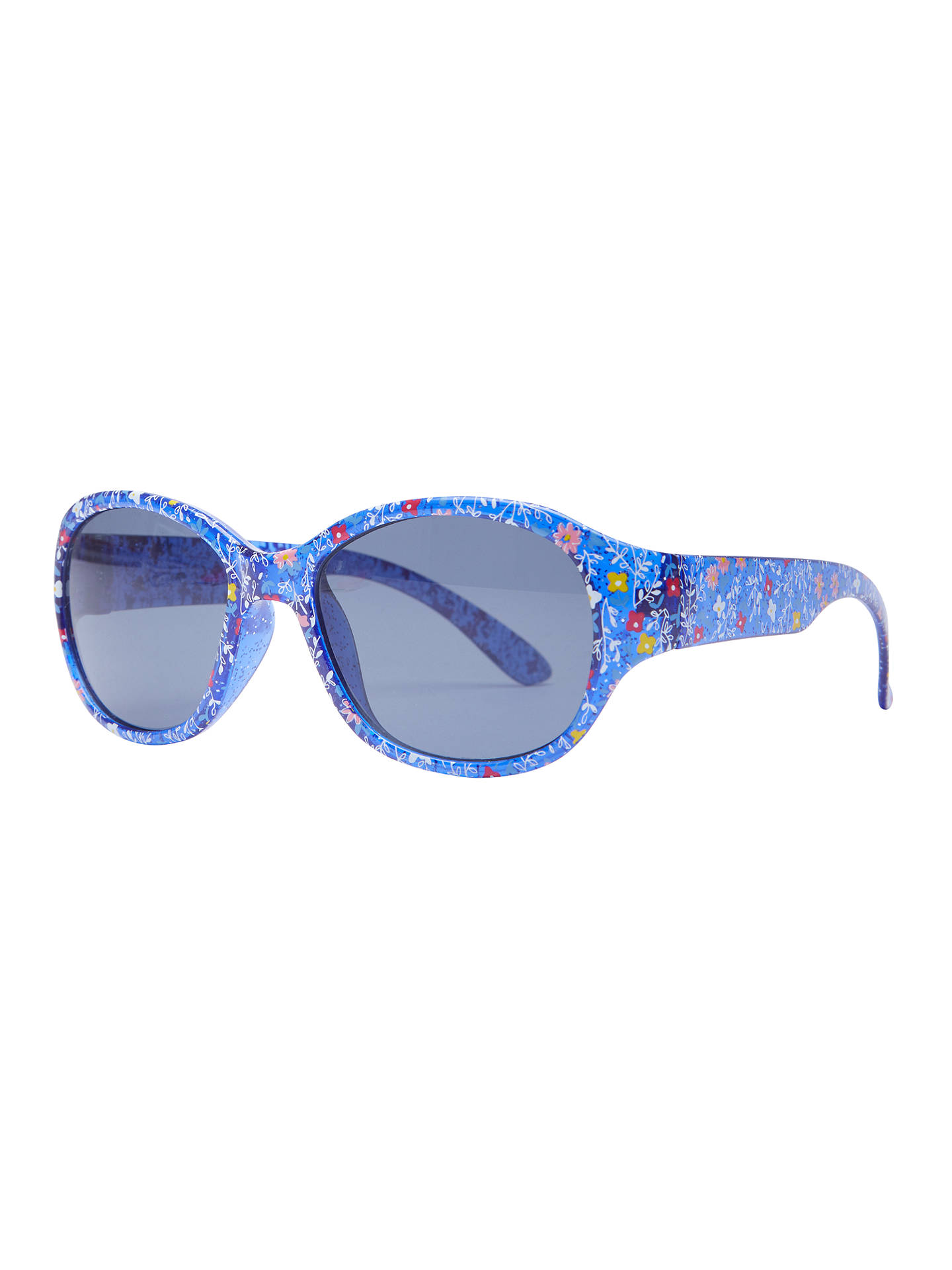 BuyJohn Lewis & Partners Children's Floral Floral Sunglasses, Navy Online at johnlewis.com