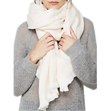Buy Mint Velvet Herringbone Blanket Scarf Online at johnlewis.com