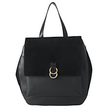 Buy Whistles Bowery Ring Backpack, Black Online at johnlewis.com