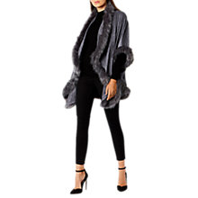 Buy Coast Kate Faux Fur Cape Online at johnlewis.com