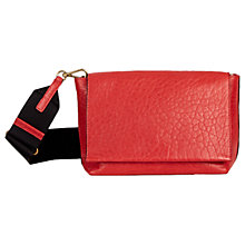 Buy Gerard Darel Chic Leather Cross Body Bag, Red Online at johnlewis.com