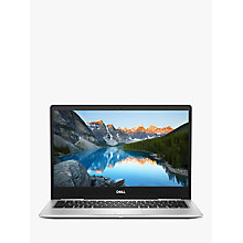 "Buy Dell Inspiron 13 7000 Laptop, Intel Core i5, 8GB RAM, 256GB SSD, 13.3"" Full HD, Silver Online at johnlewis.com"