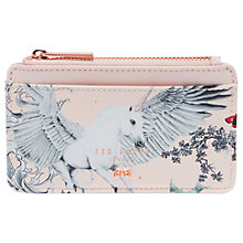 Buy Ted Baker Mckinly Dream Leather Card Holder, Pale Pink Online at johnlewis.com