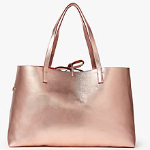 Buy John Lewis Rachel East/West Tote Bag, Gold Online at johnlewis.com