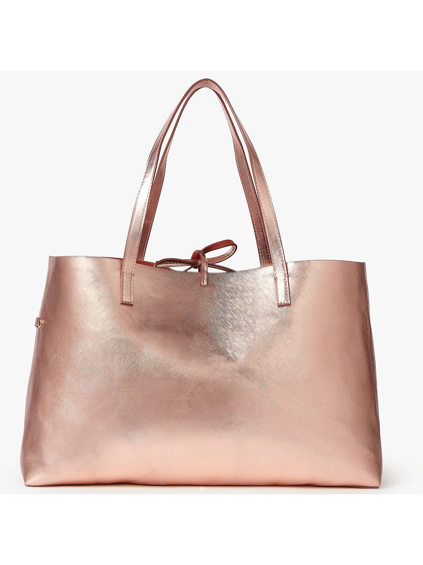 John Lewis Partners Rachel East West Tote Bag Gold Online At Johnlewis