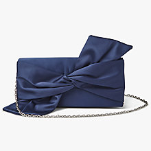 Buy John Lewis Ren East / West Bow Clutch Bag Online at johnlewis.com