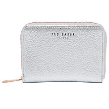 Buy Ted Baker Illda Zip Around Leather Mini Purse Online at johnlewis.com
