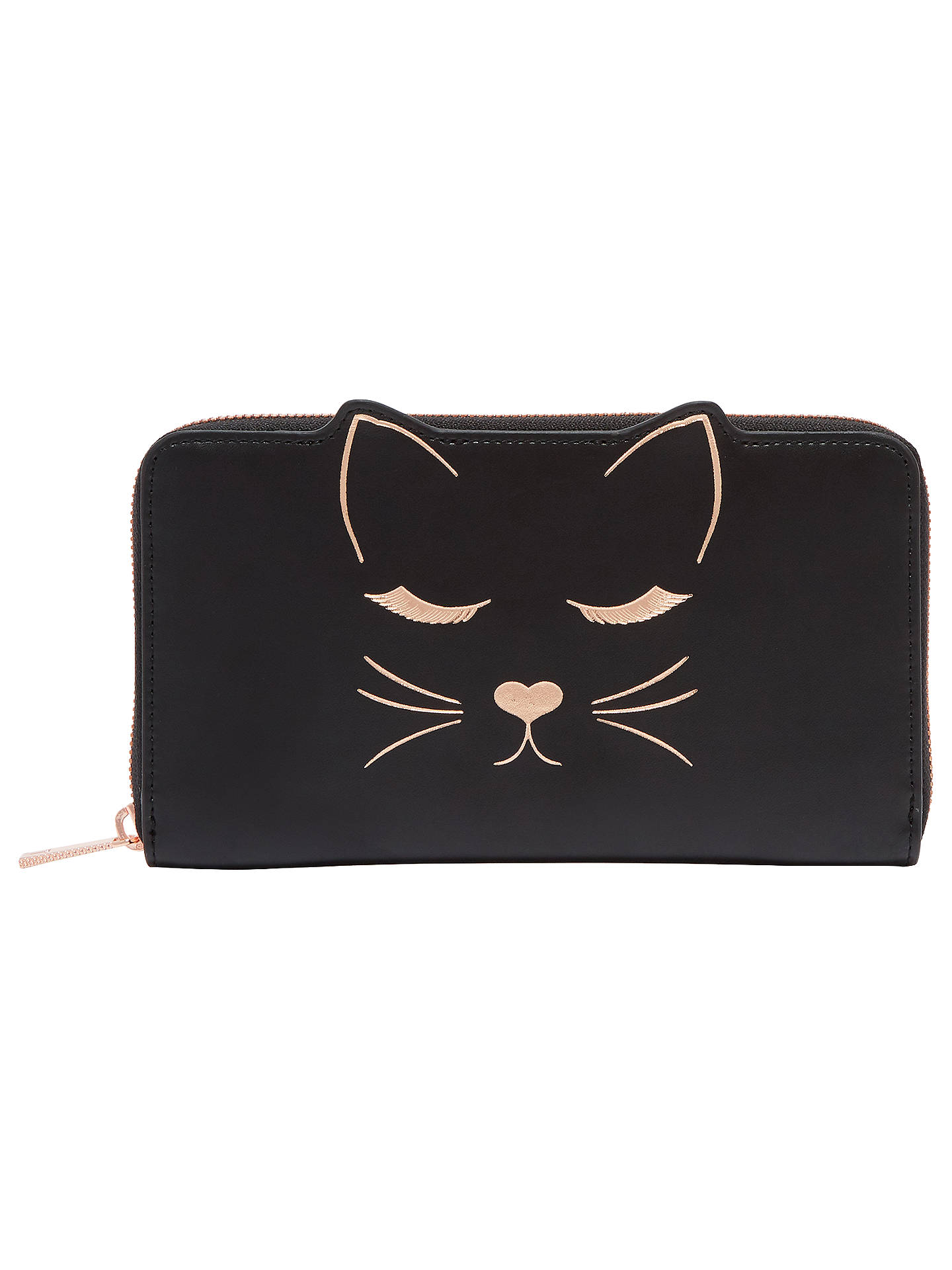 6969982d7 Buy Ted Baker Tammy Leather Cat Zipped Matinee Purse