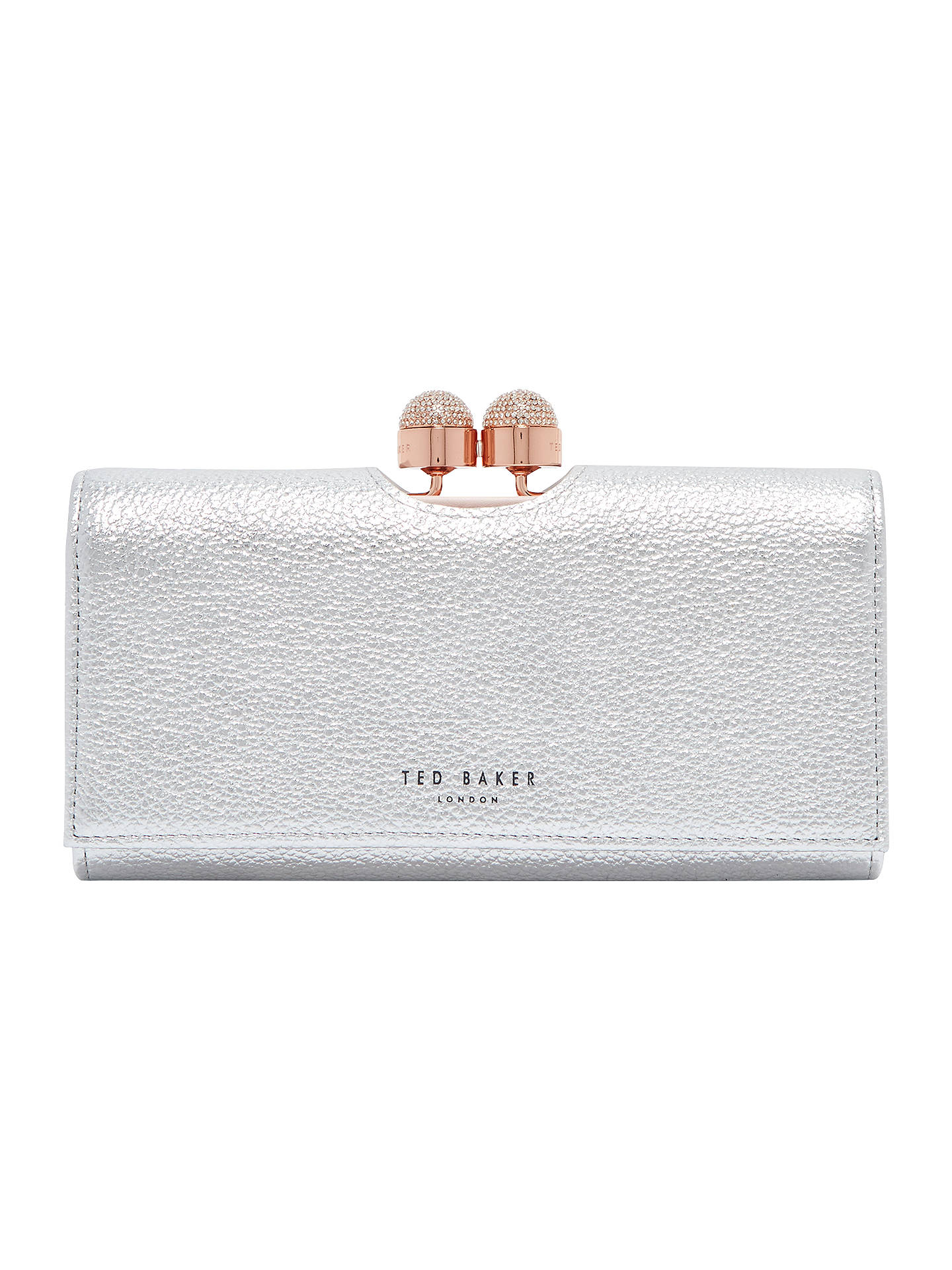 869500d765b3f Ted Baker Pamelia Leather Bobble Matinee Purse at John Lewis   Partners
