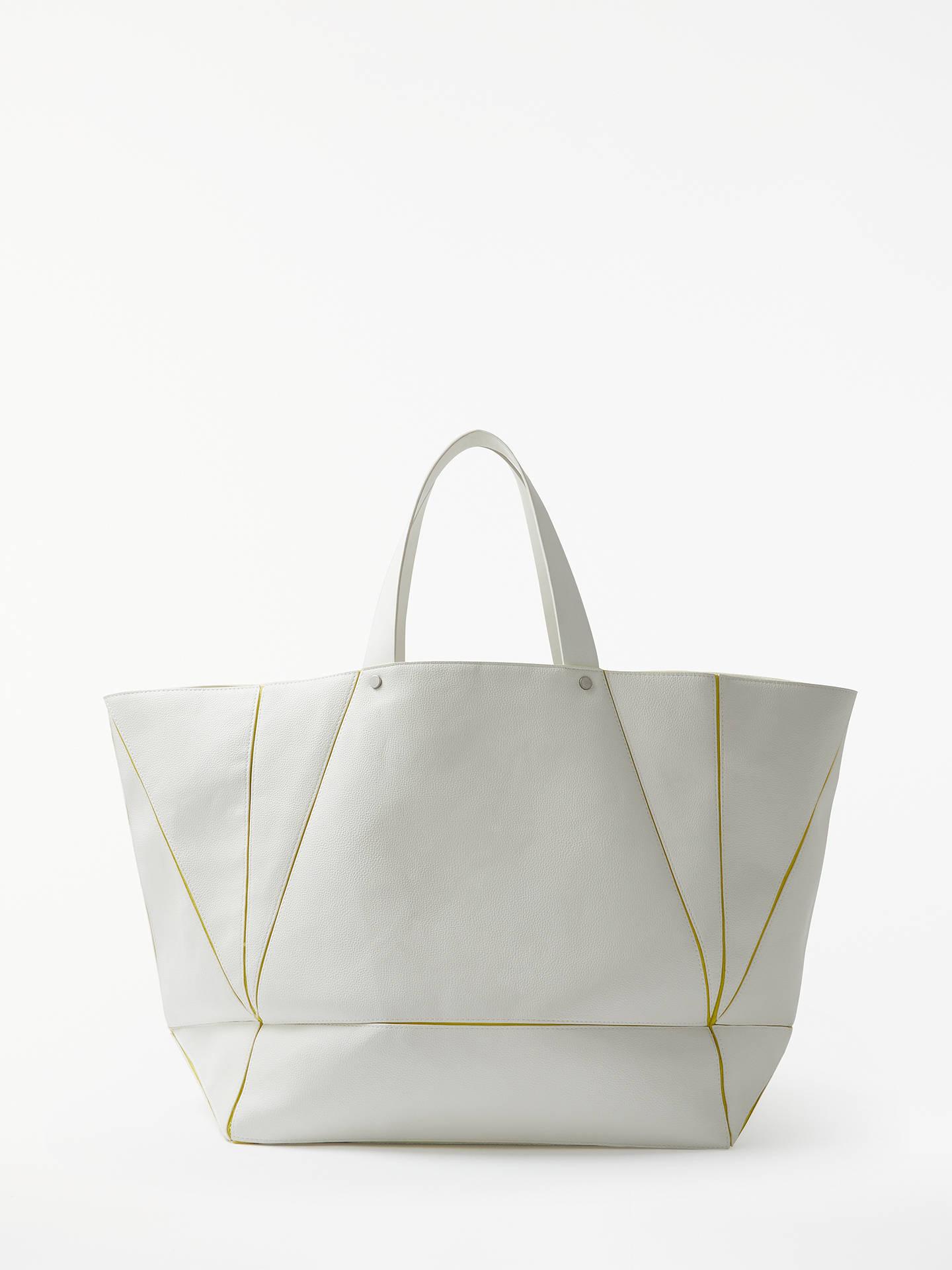 Kin Kyoto Origami Tote Bag White Online At Johnlewis
