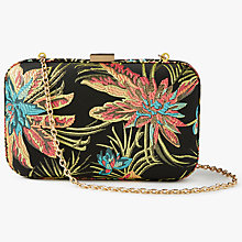 Buy John Lewis Stella Tropical Print Clutch Bag, Multi Online at johnlewis.com