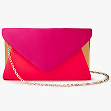 Buy John Lewis Fiona Satin Envelope Clutch Bag Online at johnlewis.com