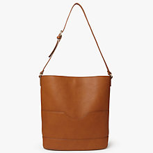 Buy John Lewis Rachel Bucket Bag, Tan Online at johnlewis.com